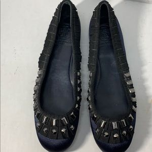 Really Cute Tory Burch Flats sz 8 1/2
